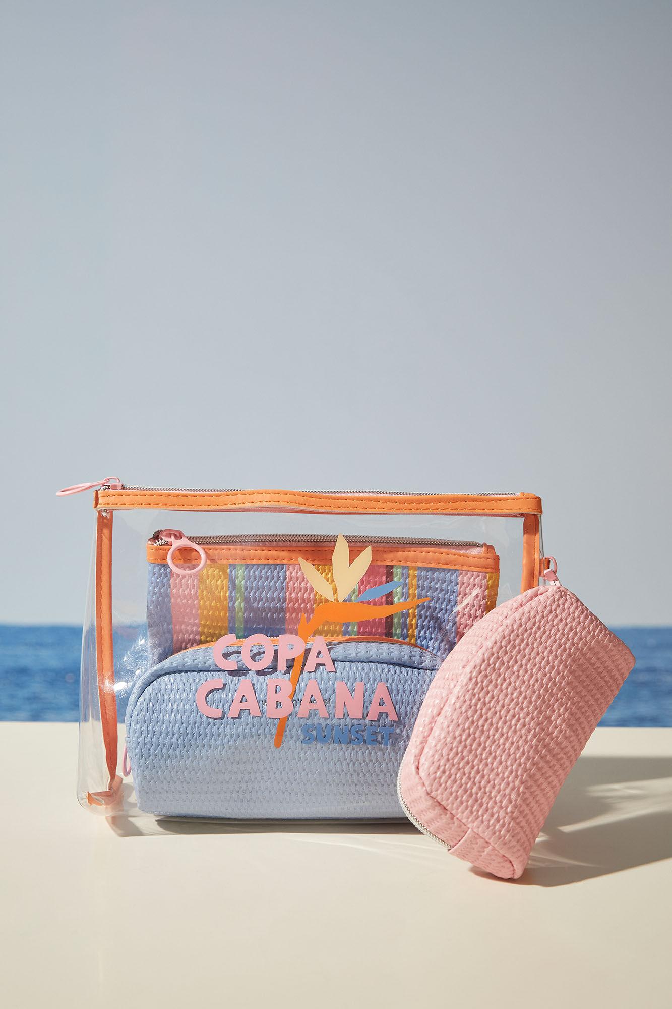 Pack 3 neceseres Copa Cabana