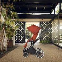 La silla Priam Cybex de estilo moderno y minimalista en homenaje a Charles & Ray Eames