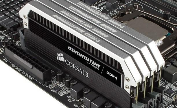 Corsair revela DDR4 con kits Vengeance LPX y Dominator Platinum