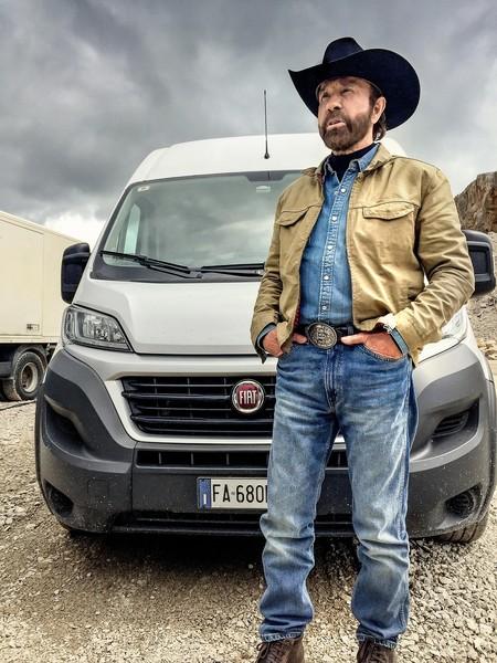 Chuck Norris y Fiat