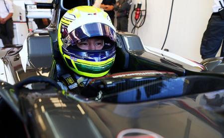 Kimiya Sato será piloto reserva de Sauber en el Gran Premio de Japón