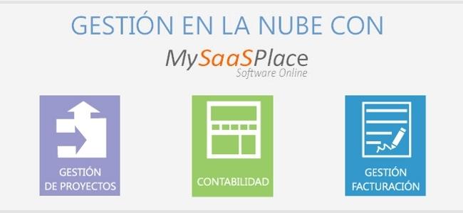 MySaaSPlace, gestión de proyectos, facturación y contabilidad en la nube