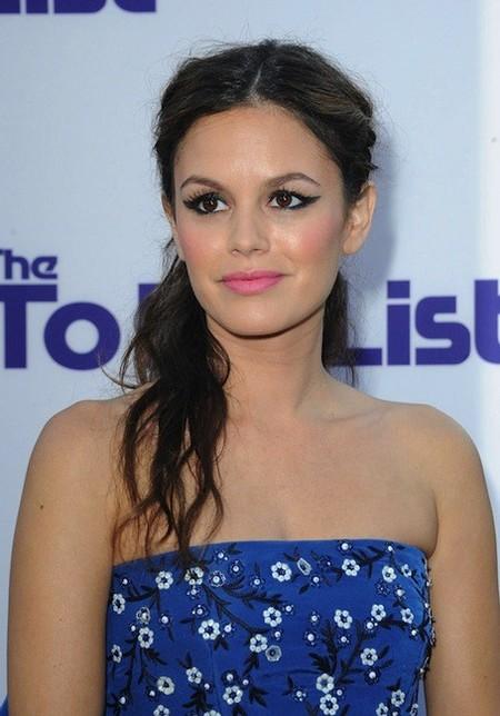 Rachel Bilson se pasa con el eyeliner, ¿te gusta?