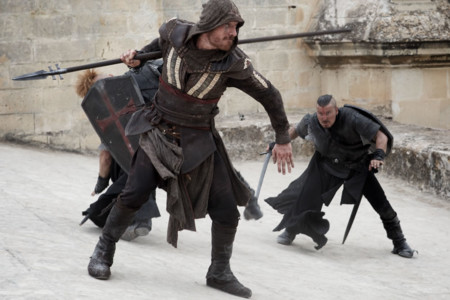 Assassins Creed Nuevas Fotos Michael Fassbender Pelea