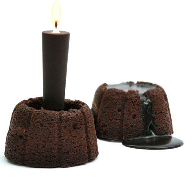 funciona la vela chocolate