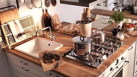 Cocinas Con Isla Ikea | Soluciones Para Disfrutar De Una Isla De Cocina En Espacios Reducidos