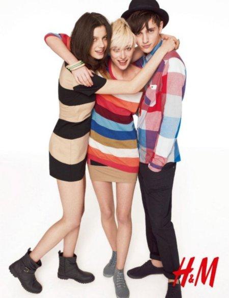 Catálogo H&M Divided Otoño-Invierno 2011/2012. En un país multicolor.....