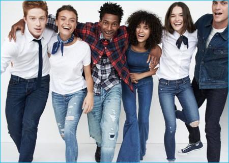 Abercrombie & Fitch presenta su nueva y muy normcore campaña de jeans para el otoño
