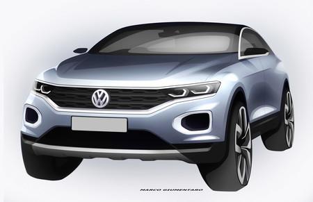 El Volkswagen T-Roc se presentará el 23 de agosto y este par de bocetos le van abriendo paso
