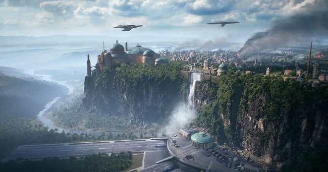 Star Wars Battlefront 2 Theed
