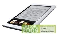 Nook, mejor lector de libros electrónicos de 2009