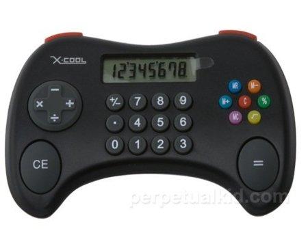 Una calculadora para los que no pueden dejar el mando de la consola