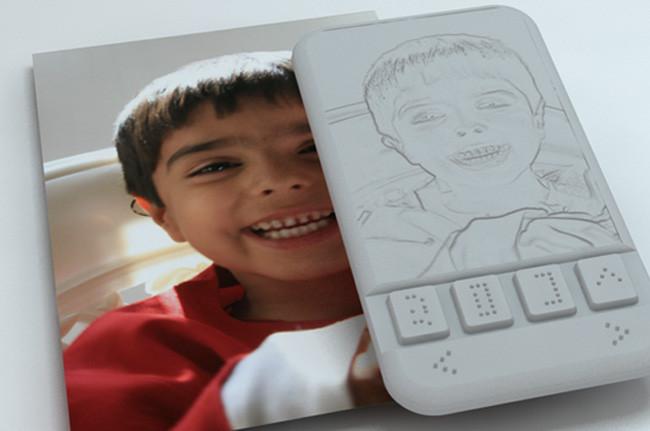 Smartphone Braille