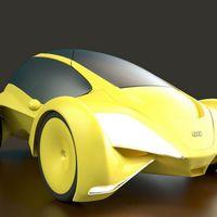 Audi Cetus, un concept propulsado por hidrógeno que emula a los cetáceos para revolucionar la movilidad urbana
