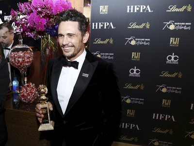 Tras ganar el Globo de Oro, James Franco ha sido acusado por varias mujeres de acoso sexual