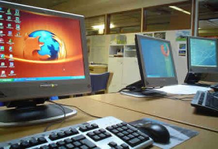 Firefox  en la oficina