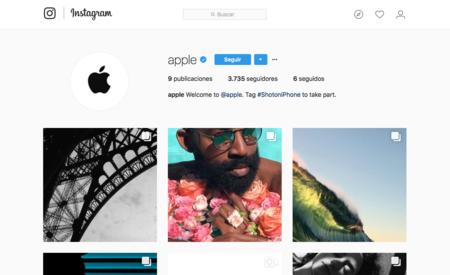 Apple abre su cuenta oficial en Instagram para compartir fotos de usuarios de todo el mundo