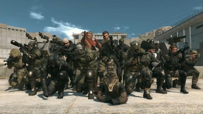 Metal Gear Online Personajes