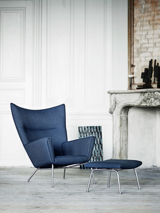Okwegner Wing Chair Ch445 Ch446 Canvas794