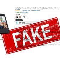 Descubren a empleados de Facebook calificando Portal con cinco estrellas en Amazon