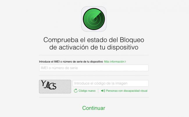icloud bloqueo apple web