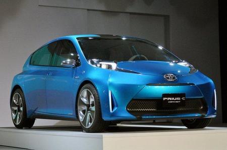 Filtradas varias imágenes del Toyota Prius C