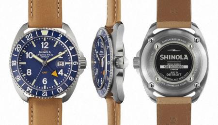 Shinola presenta dos nuevos modelos en el Baselworld 2015 con estilo clásico