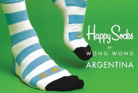 Colección mundialista de los calcetines Happy Socks