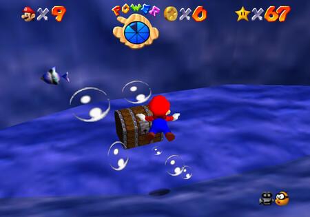 Super Mario 64: cómo conseguir la estrella Chests in the Current de Dire, Dire Docks