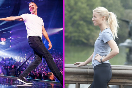 Chris Martin y Gwyneth Paltrow, de cenita familiar... Y de Jennifer Lawrence, ¡ni rastro!