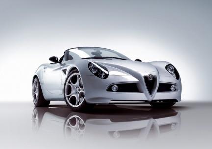 Alfa 8C Spider, debut en el salón de Ginebra