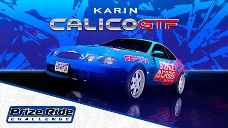 GTA Online: cómo conseguir gratis el coche Karin Calico GTF