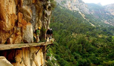 El Caminito del rey: aventura en la montaña