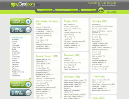 eClasi, nuevo servicio de anuncios clasificados