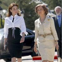 Los looks de Carla Bruni en España