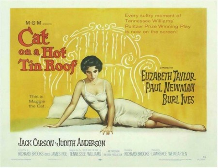 Especial Paul Newman: 'La gata sobre el tejado de zinc' de Richard Brooks