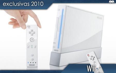 Wii: las exclusivas de 2010