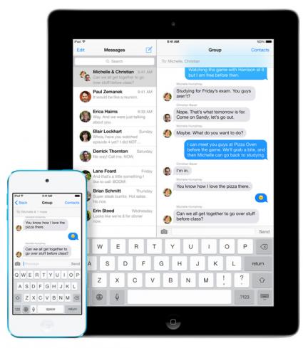 imessage apple sms mensajes