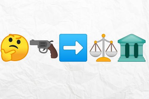 Miembros del jurado, me han amenazado de muerte con un emoji