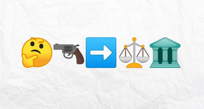 Emojis Justicia Leyes Amenazas Espana Estados Unidos