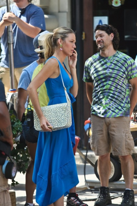 Blake Lively ya rueda la sexta temporada de Gossip Girl