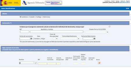 RENTA Web Open versión 2020, así funciona el simulador de la Agencia Tributaria