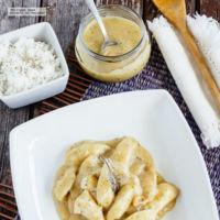 Pollo en salsa de pimienta. Receta para el Día del Padre