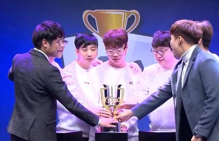 El superequipo de KT logra su primer título arrebatando la KESPA Cup a Peanut