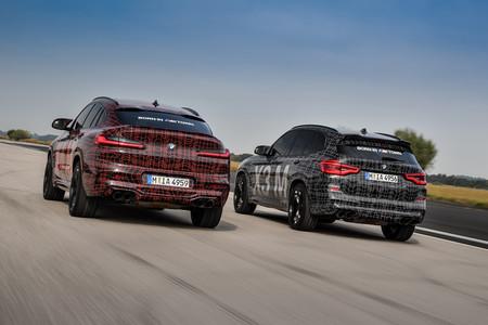BMW X3 M y X4 M prototipos trasera