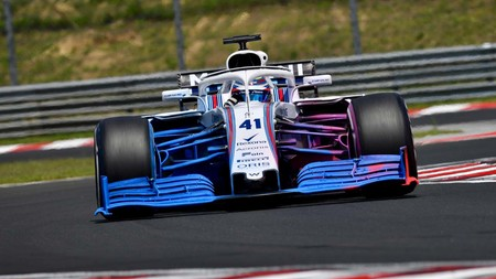 Williams Aleron Delantero Hungria F1 2018