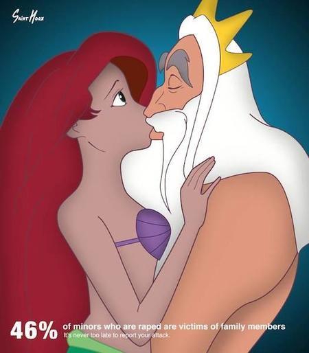 """""""Princest Diaries"""": las princesas Disney ayudan a crear conciencia sobre los abusos sexuales infantiles"""