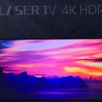 Hisense muestra su nuevo Laser TV: proyector de tiro corto más pantalla con rechazo de luz ambiental de hasta 150 pulgadas