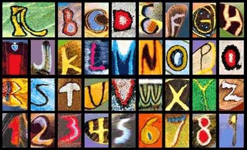 El alfabeto según las mariposas