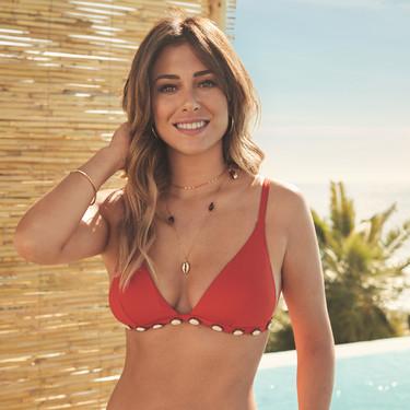 Blanca Suárez da la bienvenida al verano como imagen de la colección de baño de Women'secret